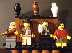 Twin Peaks (Prince_Jellyfish) Tags: david lynch lady log lego dale harry twin special audrey cooper agent sheriff peaks custom truman horne minifigures