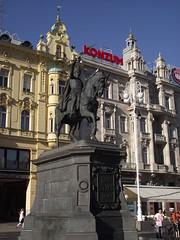 Zagreb - Josip Jelačić spomenik