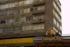 Orange City, Lima (Ewout van Sabben) Tags: city travel orange peru southamerica photography lima casino derelict