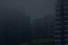 (eflon) Tags: ca city blue canada fog vancouver dark haze bc britishcolumbia tones bldgs