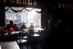 Kale (Galactic_mutant) Tags: winter light netherlands amsterdam cozy cafe 5dmark2