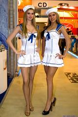 Trade show girls 4 (Alex_Schmitt) Tags: sexy girl skirt short pantyhose