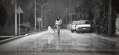 The first meet (Alexis Martinez Crations) Tags: woman paris girl rain girly dream meeting nb reflect meet rencontre
