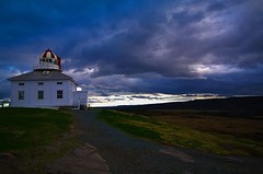 cape spear lighthouse (Weston Hunt) Tags: light sunset house point site historic national cape spear easternmost
