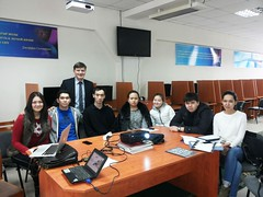 "Kazakh National University, Almaty <a style=""margin-left:10px; font-size:0.8em;"" href=""https://www.flickr.com/photos/89847229@N08/15914359725/"" target=""_blank"">@flickr</a>"