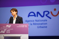 Aux Journes nationales de la Rnovation Urbaine JERU2014 (Najat Vallaud-Belkacem) Tags: jeru najatvallaudbelkacem renovationurbaine
