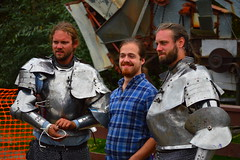 Portrait with knights (radargeek) Tags: alaska ak palmer alaskanstatefair