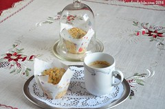 ©Apfel-Streusel-Muffins - Apple Crumble Muffins (1) (ostwestwind) Tags: muffin apfel mohn