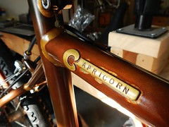 """""""Rust"""" Patina Teaser (guidedbybicycle) Tags: bike bicycle cross handmade steel frame custom cyclocross patina fillet brazed"""