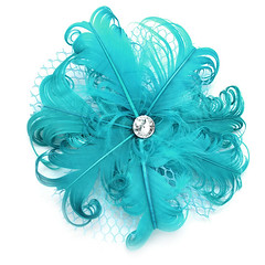 Feather Hair Clip 2E