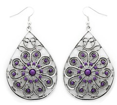 Glimpse of Malibu Purple Earrings P5420A-2