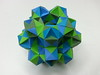 20 cuboctahedra(paper stirps) (hyunrang) Tags: origami dodecahedron hur cuboctahedron knotology paperstrip tertrahedralsymmetry