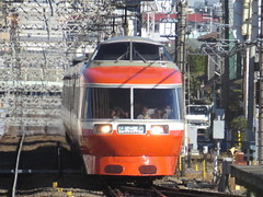LSE near Zama (Matt-san) Tags: japan private japanese asia railway transportation odakyu romancecars