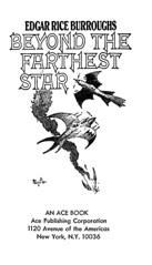 Beyond the Farthest Star (McClaverty) Tags: illustration paperback sciencefiction pulp edgarriceburroughs frankfrazetta