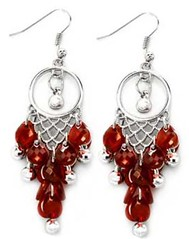 Sunset Sightings Red Earrings P5921-4