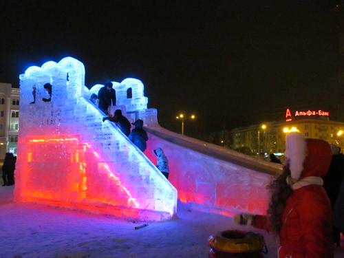 Russian winter fun...