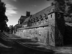 Malbork Castle (posterboy2007) Tags: bw castle sony poland knights prussia 13thcentury malbork rx100 flickrandroidapp:filter=none teutonìc