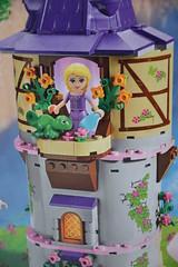 Lego Rapunzel Tower (MissLilieDolly) Tags: raiponce rapunzel disney pascal maximus flynn rider eugne fitzherbert mre gothel mother collection lego tower tour de missliliedolly miss lilie dolly aurelmistinguette
