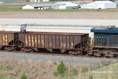 Ballest Car (waltersrails) Tags: railroad train trains coal hopper ballast csx