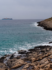 miles away (John Grivas) Tags: sea water landscape cloudy outdoor cape