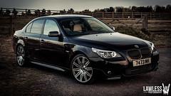 BMW 5 Series (Lawless! Photography) Tags: black cars sport photography cut 5 automotive m diamond bmw series milton keynes alloys bimmer carspotting lawless