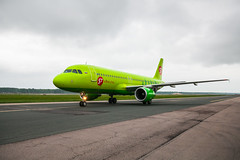 DME Airport Spotting (Andrey Wild) Tags: plane airplane airport spotting dme s7 domodedovo