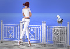 513 - Spring at the Beach (Sannita_Cortes) Tags: fashion female cosmopolitan it sl secondlife styles ikon duh zoz ppd voir virtualworld magika slink as avale virtualfashion audreystyle gewunjo eternaldreamposes larahurley thegaragefair pinkpearldesign indulgetemptation yougatchaevent
