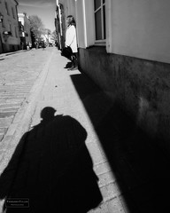Scary shadow (Torbjrn Tiller) Tags: street shadow woman scary