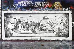 Bebopiz - Mona (Sbastien Casters (browse by artist)) Tags: street urban streetart france art graffiti mona urbanexploration urbain bebopiz