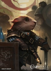 Duelist, cute guinea-pig race of Crowfall (JamesGoblin) Tags: crowfall mmo mmorpg pvp game gaming pc voxels vr virtual reality koster sandbox medieval fantasy gameofthrones eve online eveonline illustration entertainment fun computers cyberculture crowdfunding kickstarter games onlinegames videogames voxel proceduralgeneration procedural virtualreality computer rpg poster art multiplayer guineapig guinea pig raphkoster posters wallpapers wallpaper cute cutie humanoid flintlock flintlocks sword swords portray portrays rodent rodents concept conceptart