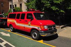 Flanders Fire and Rescue Utility 98 (Triborough) Tags: nj newjersey essexcounty newark ffd ffr flandersfireandrescue firetruck fireengine utility utility98 dodge ram van