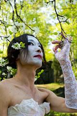 Ken Mai - Butoh dancer & choreographer (Poupetta) Tags: hanami butoh kenmai