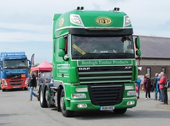 DAF XF (fannyfadams) Tags: uk test cars models tractors a5 lorries anglesey northwales showground a55 stationaryengines angleseyvintagerally tractorpullingauto