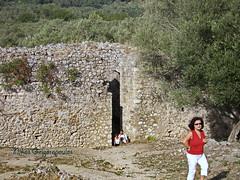 Corfu, Byzantine Fortress of Gardiki (13th Century) (nikosgr) Tags: castle nature landscape stonework medieval historic greece corfu fortress byzantine    gardiki