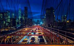 Sin City (Arutemu) Tags: city nyc newyorkcity urban usa ny newyork night america canon us cityscape view nightscape nightshot unitedstates manhattan sigma ciudad nighttime american citylights brooklynbridge vista nightview  ville   6d          sigma2470   eos6d     canon6d