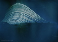 solargraph (Themagster3) Tags: summer sun photography pinholecamera summersolstice solargraph