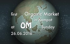 Organic Market OM Kampot Cambodia (Akoo Chillout Ibiza) Tags: cambodia market farm ibiza farmer organic om permaculture tulsi tulasi kampot sanctum akoo ocimum tenuiflorum