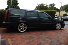 V70 25-06-16 (AcidicDavey) Tags: blue volvo 1998 pearl awd v70 nautic