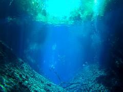 Mergulho na Lagoa Misteriosa (luisa_lima11) Tags: mergulho bonito ms lagoa misteriosa