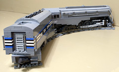 Dreyfuss_Hudson_22 (SavaTheAggie) Tags: lego steam engine locomotive hudson 464 henry dreyfuss new york central system nyc railroad train trains streamlined streamliner j3a