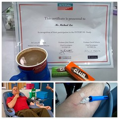 107.. (Mike-Lee) Tags: red collage blood arm sheffield picasa certificate needle donate blooddonation jacobsclub june2016