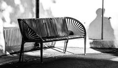 197/366 Shadows - 366 Project 2 - 2016 (dorsetpeach) Tags: summer england bench evening shadows july dorset 365 dorchester 2016 366 aphotoadayforayear 366project second365project