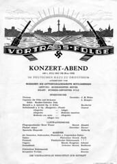Konsertaften i Deutsches Haus / Frimurerlosjen (1942)