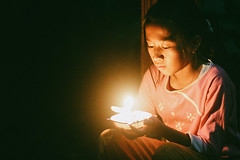 Sometimes the little things in life mean the most.  Ellen Hopkins (Januarain Photography) Tags: januarain photo photography pretty light candle child children childhood kid fire canon 85mm female flickr tumblr thankful grateful gratitude night innocence