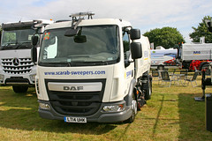 DAF LF Scarab Roadsweeper LT14 UHK (SR Photos Torksey) Tags: road truck transport lorry commercial vehicle lf freight logistics scarab daf haulage hgv lgv roadsweeper