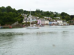 "The River Dart from the ferry terminal at  ""Greenway"" in Devon. (DEE VEE 40) Tags: greenway riverscene"