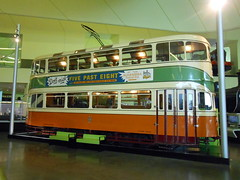 Glasgow Cunarder tramcar 1392 (miledorcha) Tags: two museum riverside mark glasgow tram system corporation route streamlined preserved coronation markii tramcar tramways 1392 cunarder corpy