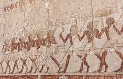 Queen Hatshepsut Temple (claugrodriguez) Tags: temple ancient desert egypt marching luxor hatshepsut architecturalphotography landscapeorientation