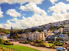 Ilfracombe, North Devon (photphobia) Tags: road uk houses sky holiday building architecture buildings hotel vanishingpoint seaside outdoor perspective victorian ilfracombe victoriaterrace northdevon oldwivestale buildingsarebeautiful