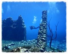 Capodacqua Lake, the ancient watermill (RAFFAELE FIOCCA) Tags: sub dive scuba diving coolpix abruzzo pescara capestrano abruzzi greatphotographer capodacqua tirino aw130
